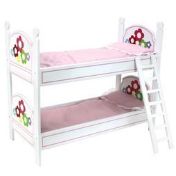 Sophia's 18 Inch Doll Bunk Bed, Doll Bedding & Ladder Doll F