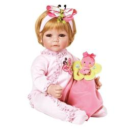 "Adora Toddler Butterfly Romper 20"" Girl Weighted Doll Gift S"