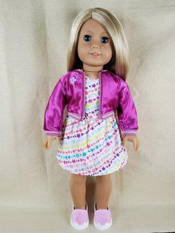 American Girl Doll Clothes 18 Inches Truly Me Outfit, Sparkl
