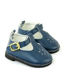 """Doll Clothes 18"""" Shoes Navy Mary Jane Fits American Girl Dol"""