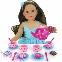 """Doll Clothes 18"""" Sophia's Tea and Treats Sized For American"""