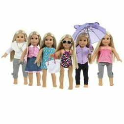 DOLL CLOTHES AND ACCESSORIES FITS 18 INCH DOLLS