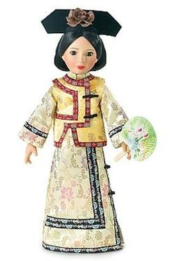 "Doll Clothes SLIM 18"" Carpatina Original Dress Qing Dynasty"
