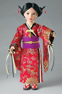 "Doll Clothes SLIM 18"" Carpatina Original Dress Japanese Kimo"