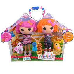 Lalaloopsy Doll Figure Twins 2 Pack - Sunny Side Up and Berr