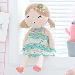 Gloveleya Baby Doll Baby Girl Gifts Plush Snuggle Buddy Cudd