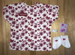 American Girl Doll Hospital Gown, Socks, Bracelet, Get Well