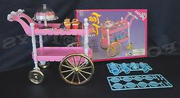 GLORIA Doll House FURNITURE SIZE TEA TIME CART SET PLAYSET F
