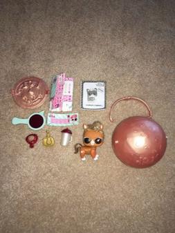 LOL Surprise Doll Pets The Pony Glitter Eye Spy Series 4 ULT