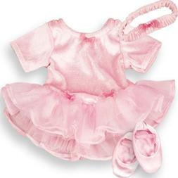 Sophia's 15 Inch Baby Doll Outfit Pink Ballet 3 Pc. Clothes
