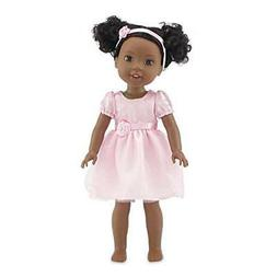 Emily Rose 14 Inch Doll Clothes | Pink Easter Doll Dress wit
