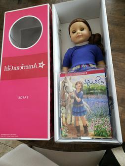American Girl Doll Saige Girl Of The Year 2013 New In Box Ri