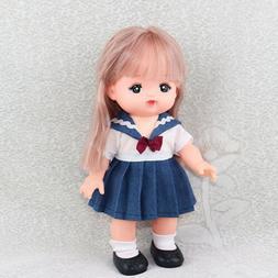 Doll School Uniform for Mellchan Baby Doll 9-11inch Reborn G