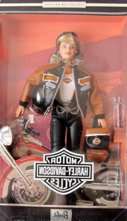 HARLEY DAVIDSON BARBIE DOLL 4th in Series COLLECTOR EDITION