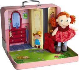 "HABA Doll Shona 8"" Plush Doll in Carying Case"