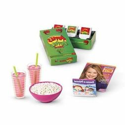 American Girl Doll SLEEPOVER SET Party Accessories~Apples to