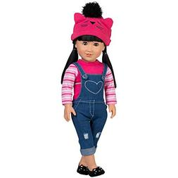Adora Amazing Girls 18-inch Doll, ''Cool Cat Zoe''