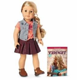 American Girl Doll Tenney Grant 18 Inch Doll and Book  NEW I