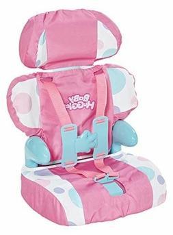 Doll Toy Chair Stroller Car Seat Girls Pink Dot For Reborn B