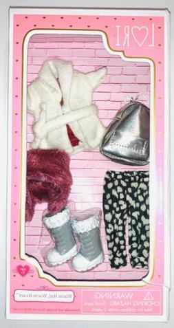 Lori Doll Warm Hat, Warm Heart Outfit Warm Hat Warm Heart Fu