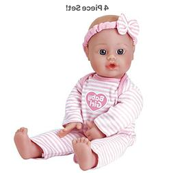 Adora Sweet Baby Girl Doll Washable Soft Body Vinyl Play Toy
