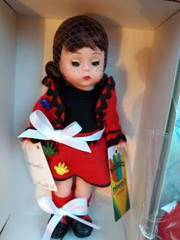 Madame Alexander Doll With Stand Crayola Red NIB #17860