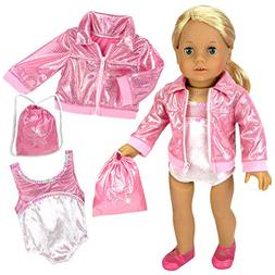 Sophia's Doll Clothing for 18 Inch Doll Gymnastics 3 Pc. Set