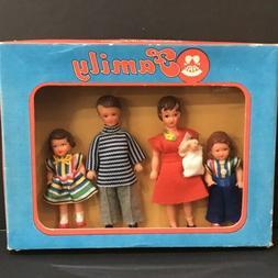 ARI Dollhouse Doll Family 1970s Germany NRFB