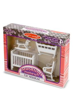 Girl's Melissa & Doug Dollhouse Furniture