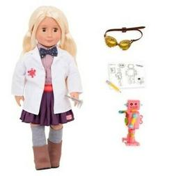 "Our Generation Dolls Amelia 18"" Professional Inventor Doll"