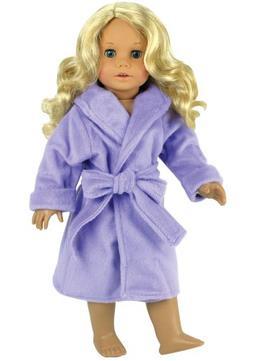 Dolls Robe for 18 Inch Dolls by Sophia's & Fits American Gir