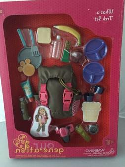 Our Generation Dolls What A Trek Hiking Gear Set for Dolls,