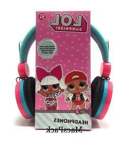 LOL Surprise Dolls Wired Headphones 4 birthday gift very har