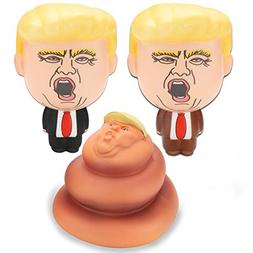 Grobro7 Donald Trump Collectible Squishy Toys Gag Gift Figur