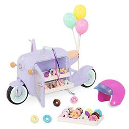 Glitter Girls by Battat – Donut Delivery Scooter for 14-in