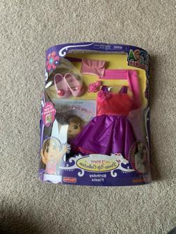 Dora the Explorer Dress Up Collection Fashions - Birthday Fi