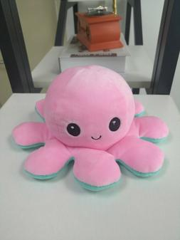 double sided flip reversible octopus emotional face