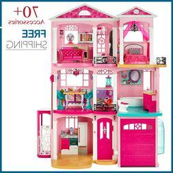 Barbie Dreamhouse Dream house Dollhouse /w Furniture and ove