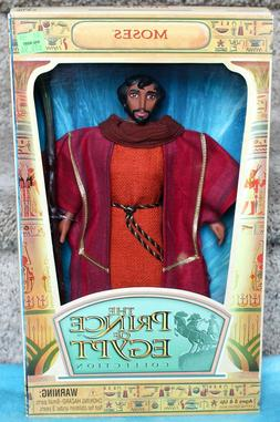 """DREAMWORKS MOSES 12"""" DOLL THE PRINCE OF EGYPT COLLECTION HAS"""