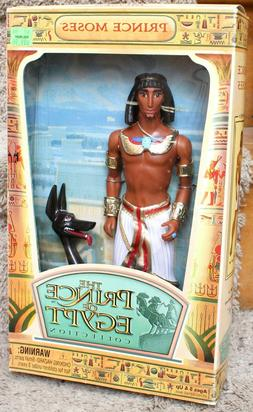 """DREAMWORKS PRINCE MOSES 12"""" DOLL THE PRINCE OF EGYPT COLLECT"""
