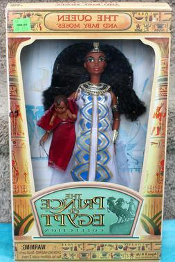 DREAMWORKS THE QUEEN AND BABY MOSES DOLLS THE PRINCE OF EGYP