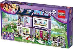 Emma's House Building Set with 3 Mini-Doll Figures, Modular