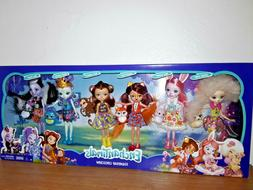 """ENCHANTIMALS """"FRIENDSHIP COLLECTION"""" 6 PACK OF FRIENDS AND A"""