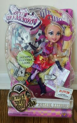 Ever After High Courtly Jester Doll * Special Edition * NEW