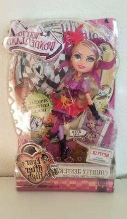 Ever After High Way Too Wonderland Courtly Jester Doll in pa