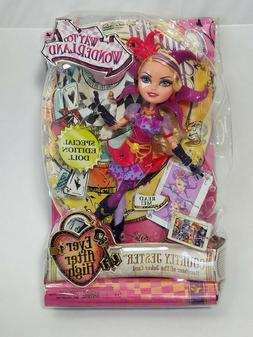 Ever After High Way Too Wonderland Courtly Jester Doll Speci