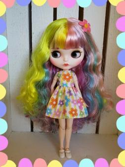 Factory Type Blythe Doll Colorful Hair - Special Matte -  Ou