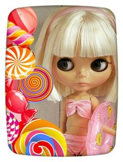 Factory Type Neo Blythe Doll Light Blonde Hair, Jointed, Out