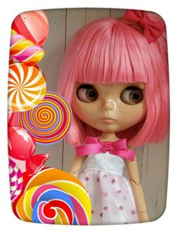 Factory Type Neo Blythe Doll Pink Hair, Jointed, Outfit, Acc