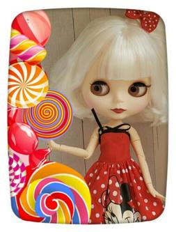 Factory Type Neo Blythe Doll White Hair, Jointed, Outfit, St